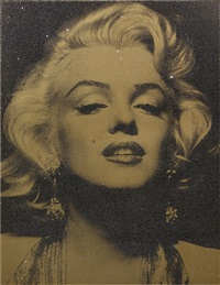 marilyn portrait by russell young