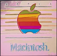 apple (from ads) by andy warhol