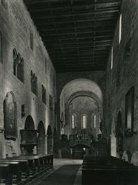 intérieur de la basilique saint-georges, prague by jaromir funke