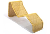wicker day bed by tito agnelli