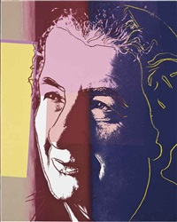 golda meir (from ten portraits of jews of the twentieth century) by andy warhol