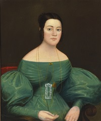 portrait of mrs. jacob weaver by john sherburne blunt