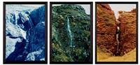 waterfall series by olafur eliasson