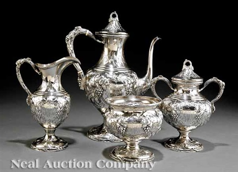 coffee service set of 4 by ag schultz co