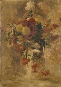 bouquet de fleurs by fernand cormon