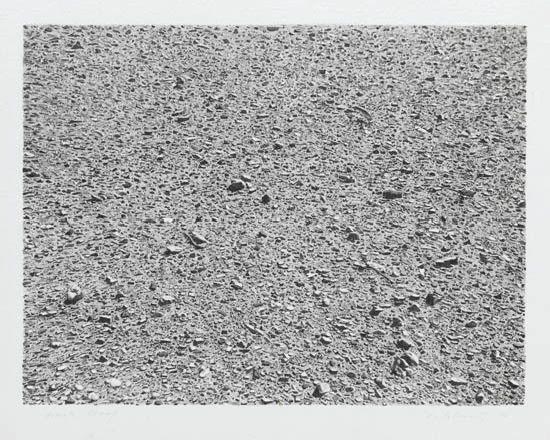 untitled portfolio: desert by vija celmins