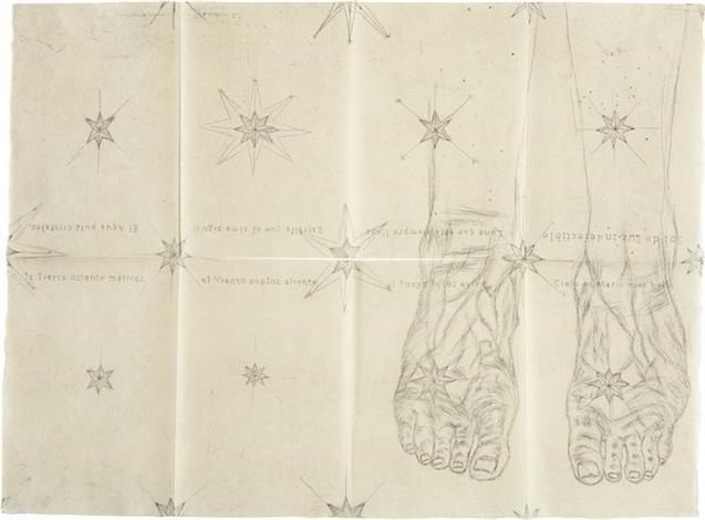 the blue feet by kiki smith
