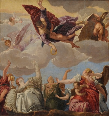 apoteosis by giovanni battista tiepolo