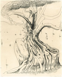 moreton bay fig by brett whiteley
