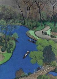 london park scene by take sato