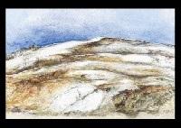landscape of december by kenichi komatsu