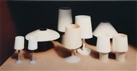 neun lampen (nine lamps) by thomas demand