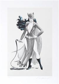 cat woman #2 by mel ramos