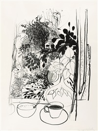 view of the garden by brett whiteley