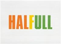 halfull by kay rosen