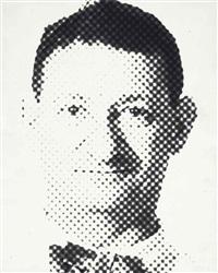 self-portrait, 1950s by erwin blumenfeld