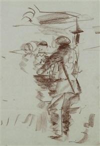 au bistrot (2 works) by farid aouad