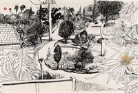 linfield gardens by brett whiteley