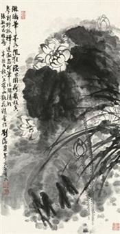 墨荷图 by liu haisu