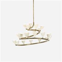 chandelier, model 2040 by gino sarfatti