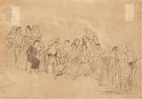 le sacrifice by edgard tytgat