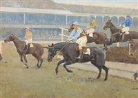 reynoldstown winner of the grand national 1936 by charles walter simpson
