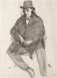 autoportrét by georges (karpeles) kars