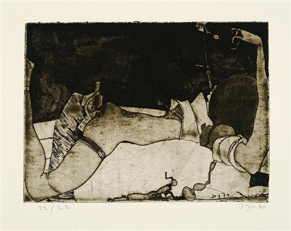 Niedlich - Gespreizt 2 works von Horst Janssen auf artnet