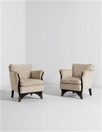 armchairs (pair) by eugene printz