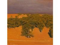 an australian landscape by bryan westwood