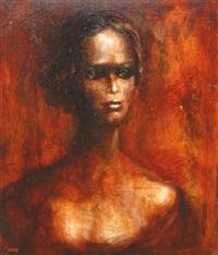 femme en buste by pierre lafille