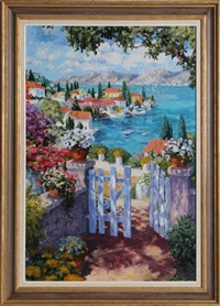garden gate by julian askins