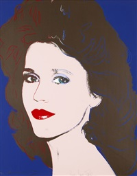 jane fonda by andy warhol