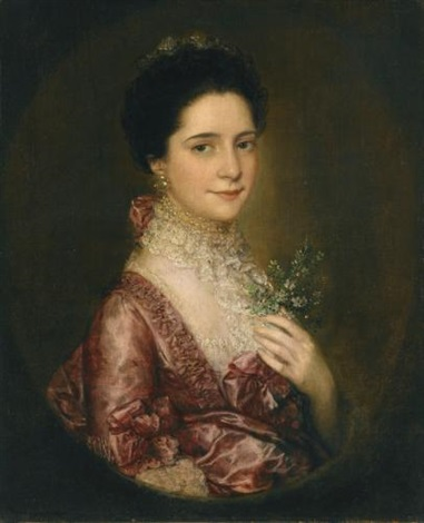 portrait of mrs richards by thomas gainsborough