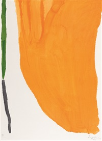 four pochoirs (set of 4) by helen frankenthaler