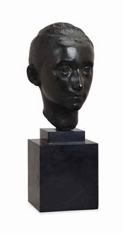 bust of a young woman by charles despiau