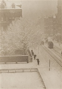 snapshot - from my window, new york by alfred stieglitz