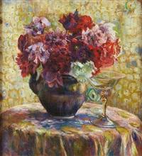 Auktionsergebnisse von berthe art berthe art auf artnet for Bouquet fleuri