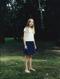 tiergarten, berlin, germany, june 27, 1999 by rineke dijkstra