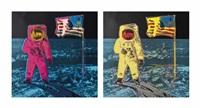 moonwalk (set of 2) by andy warhol