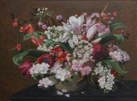 april blossom by john e. nicholls