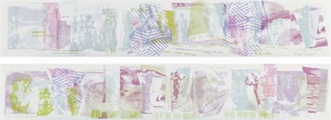 monday and saturday diptych by carolee schneemann