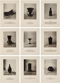 9 props (complete set of 9) by lorna simpson