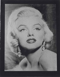 marilyn goodess by russell young