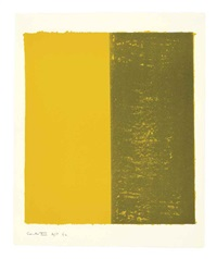 canto xiii (from 18 cantos) by barnett newman