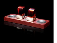 ink stand with bookends by jean emile puiforcat