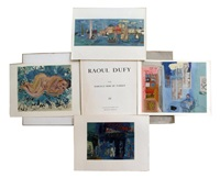 sujets divers (portfolio of 7) by raoul dufy