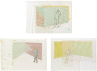 untitled (before the prophet) (3 works) by francis alÿs