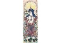 goddess of daibenzaiten by shiko munakata