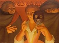 un ballo in maschera by george tooker